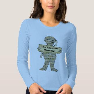 Funny Halloween Mummy T-shirts