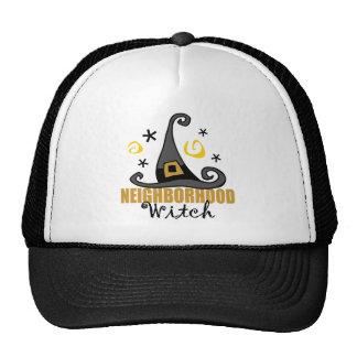 Funny Halloween Neighborhood Witch Hat/Cap