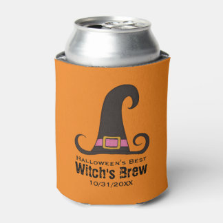 Funny Halloween Party Witch's Brew Beer
