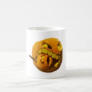 Funny Halloween Pumkin Head Coffee Mug
