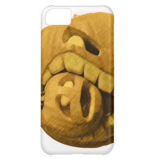 Funny Halloween Pumkin Head (Vintage Version) iPhone 5C Cover