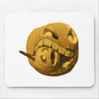 Funny Halloween Pumkin Head Vintage Version Mouse Pads