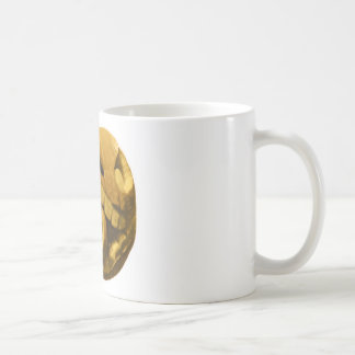 Funny Halloween Pumkin Head (Vintage Version) Mugs