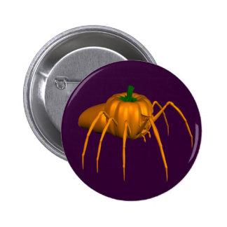 Funny Halloween Spider 6 Cm Round Badge