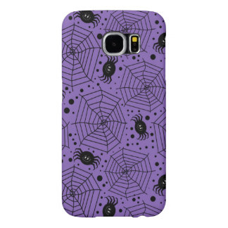 Funny Halloween Spiders Samsung Galaxy S6 Cases