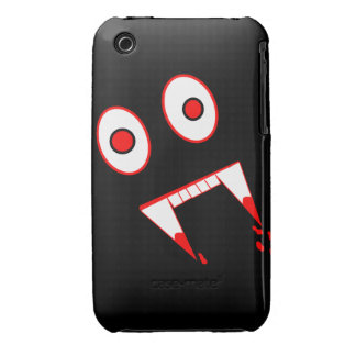 Funny Halloween Vampire face iPhone 3 Covers