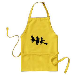 Funny Halloween Witches Aprons