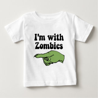 Funny Halloween Zombies Baby T-Shirt