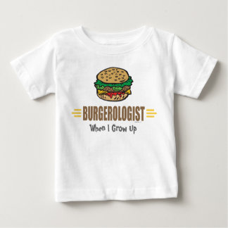 Funny Hamburger Baby T-Shirt