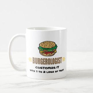 Funny Hamburger Basic White Mug