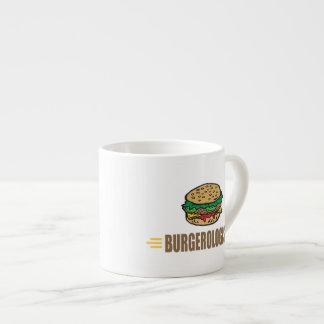 Funny Hamburger 6 Oz Ceramic Espresso Cup