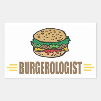 Funny Hamburger Sticker