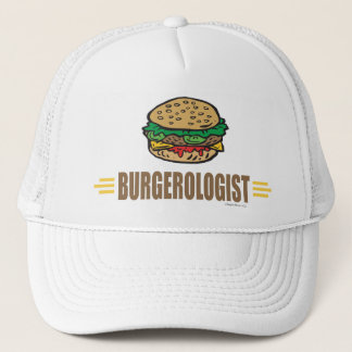 Funny Hamburger Trucker Hat