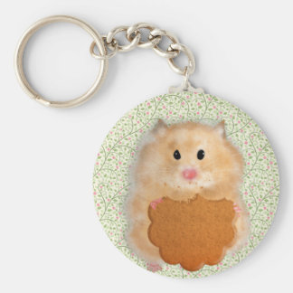 Funny Hamster Character illustration Keychains