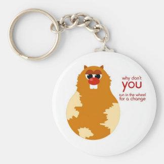 Funny Hamster Keychain