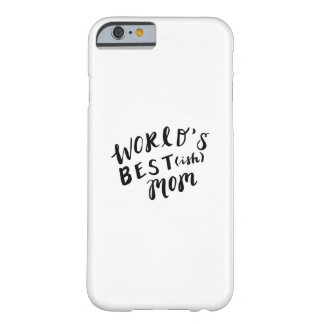 Funny Hand Lettered Case (World's Best-ish Mom)