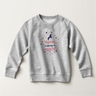 Funny Happiness is Believing in Unicorn Sweatshirt