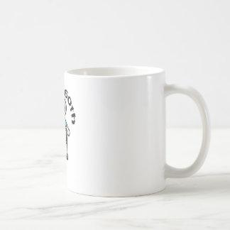 "Funny, ""Happy 60th"" old woman design Basic White Mug"