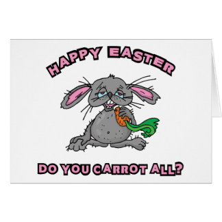 Funny Happy Easter Bunny Cards
