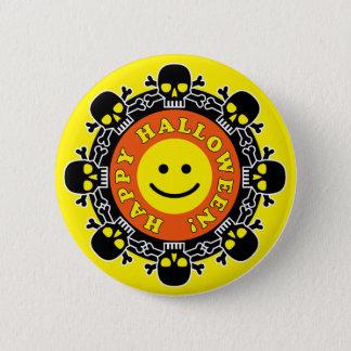 Funny Happy Halloween 6 Cm Round Badge