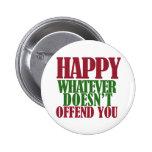 Funny Happy Holidays Merry Christmas parody Pins