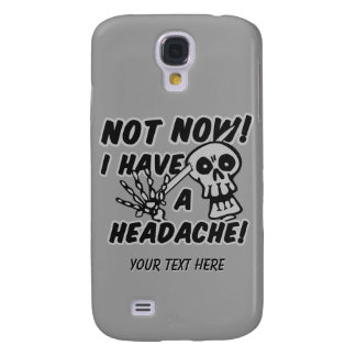 Funny Headache Skull custom cases