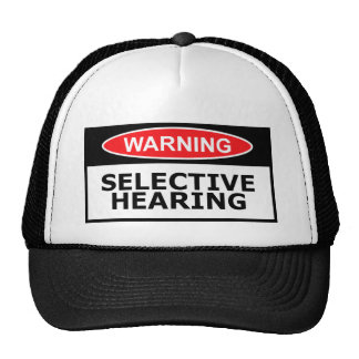 Funny hearing cap