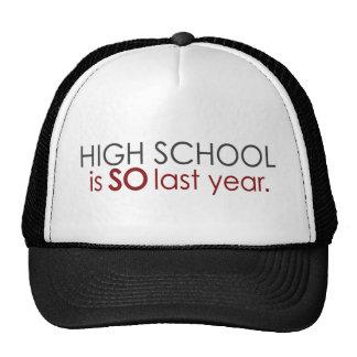 Funny High School Grad Mesh Hat