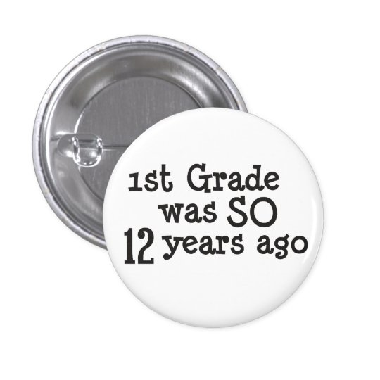 Funny High School Graduate 3 Cm Round Badge