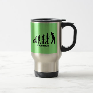 Funny hilarious golf stainless steel travel mug