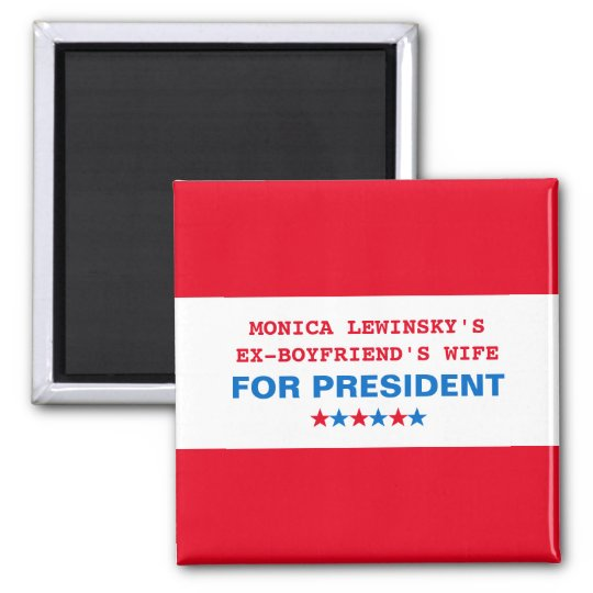 Funny Hillary Clinton Political Humour 2016 Magnet