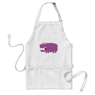 Funny Hippo Aprons