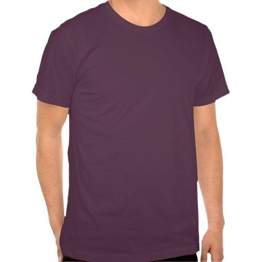 Funny Hipster Bacon & Egg Men's Purple T-shirt