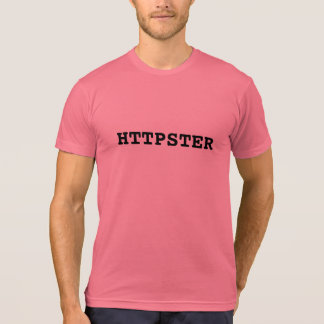 Funny Hipster Httpster T-Shirt