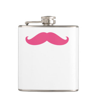 Funny Hipster Mustache Flasks