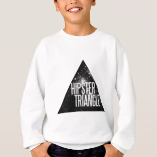 Funny Hipster Triangle Sweatshirt