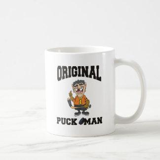 Funny Hockey Original Puck Man Coffee Mug