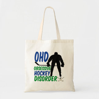 Funny Hockey Tote Bag