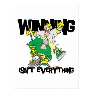 Funny Hockey Winning Isn't Everything Post Cards