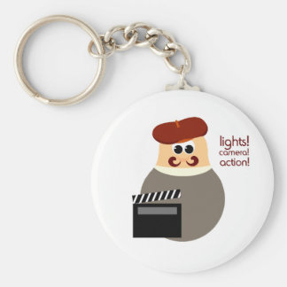 Funny Hollywood Director Keychain