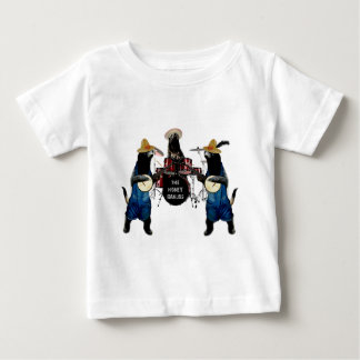 Funny Honey Badger Band Baby T-Shirt