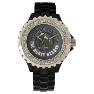 Funny Honey Badger Wrist Watch