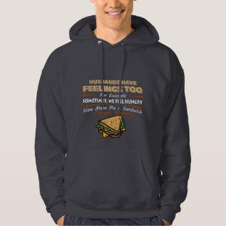 Funny Hooded Sweatshirt for Guys