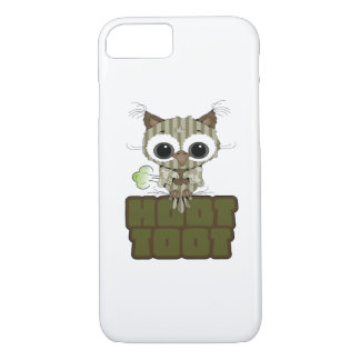 Funny Hoot Toot Cute Farting Owl iPhone 7 Case