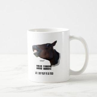 Funny Horse Addict Mug