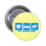 Funny horse buttons