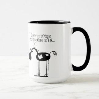 Funny Horse Cartoon Mug