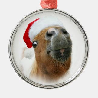 Funny horse Christmas Christmas Ornament