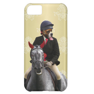 Funny horse rider character case for iPhone 5C