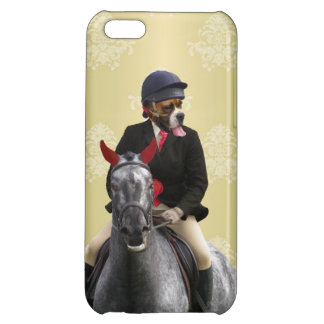Funny horse rider character iPhone 5C cover
